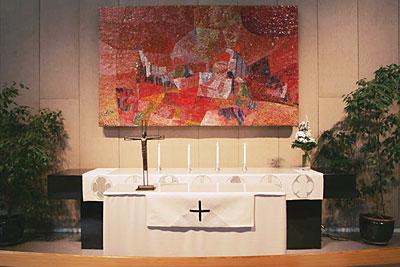 Munkkivuoren kirkon alttari
