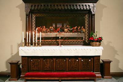 Pyhän Laurin kirkon alttari