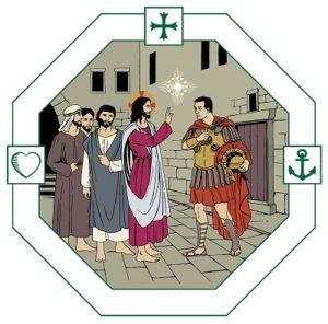 Jesus föreläser för romare, judar och hedningar