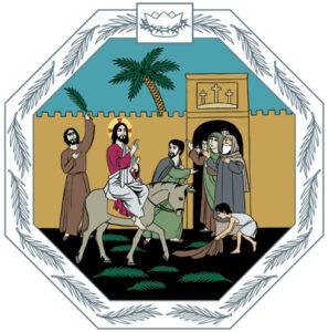 Jesus dog för att inrätta ett nytt förbund mellan Gud och människan.